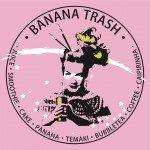 banana trash logo